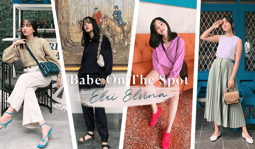 Babe on the Spot: Elxi Elvina