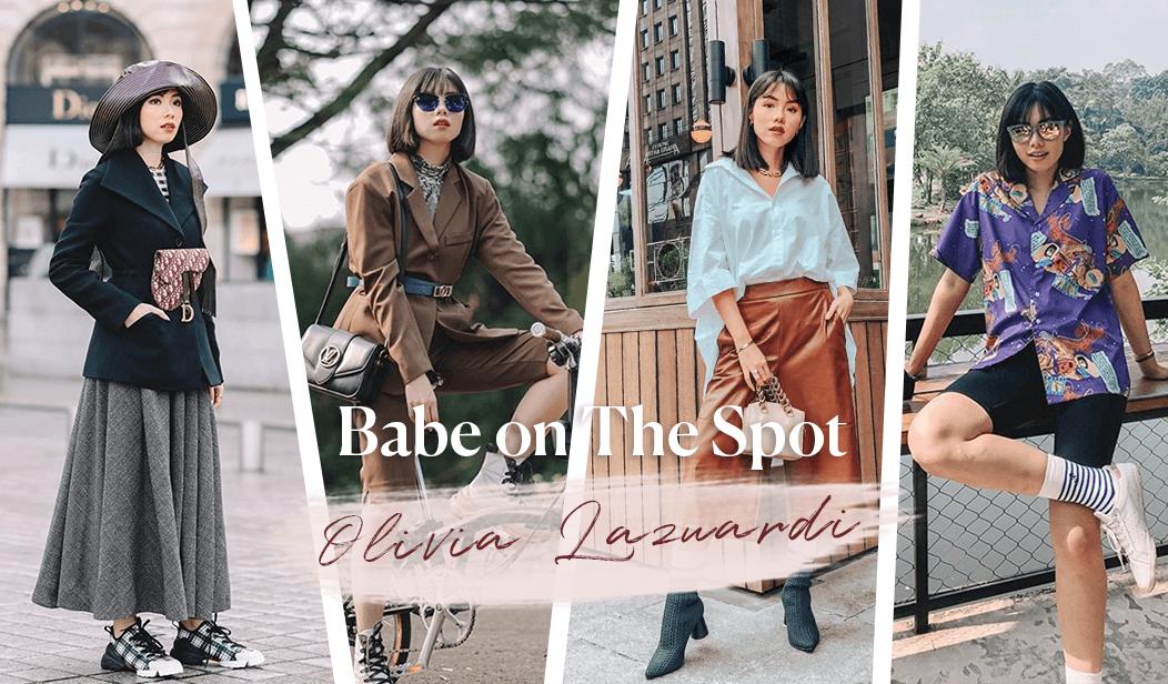 Babe on the Spot: Olivia Lazuardy