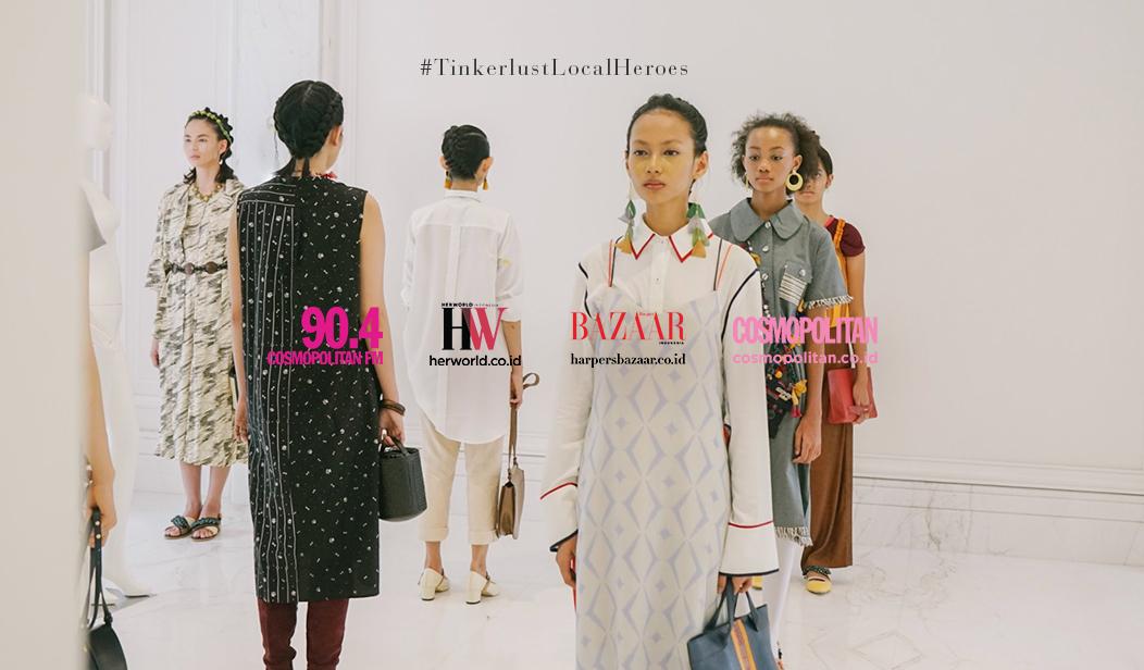 Harper's Bazaar Indonesia, Cosmopolitan Indonesia, dan Her World Indonesia, Ikut Dukung Gerakan Sustainable Fashion #LocalHeroes
