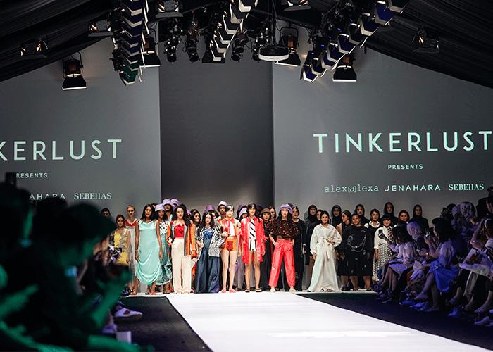 Tinkerlust Tampil Dengan Busana Upcycling di Jakarta Fashion Week 2020
