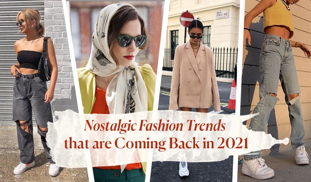 5 Tren Fashion Nostalgia yang akan Kembali di Tahun 2021